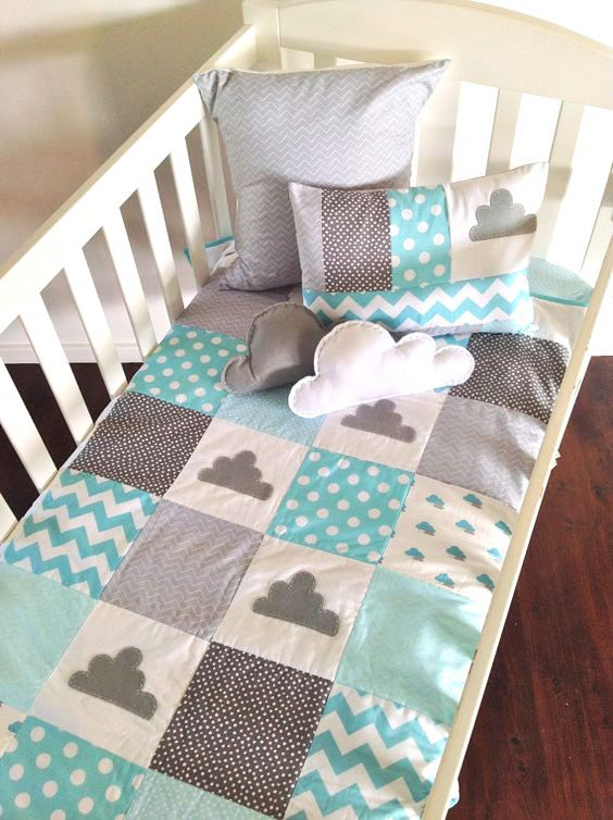 Jogo De Cama Infantil Baby Crib Quilt Patchwork Baby Crib Quilt