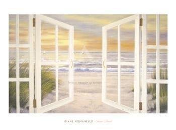 Sunset Beach - 35x24in - $37