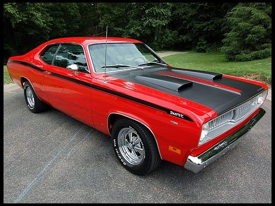 1971 Plymouth Duster. you can turn that into a DEMON!!! That's awesome!!