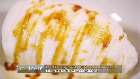Ile flottante au micro-ondes par le Chef Arabian - Etape par étape