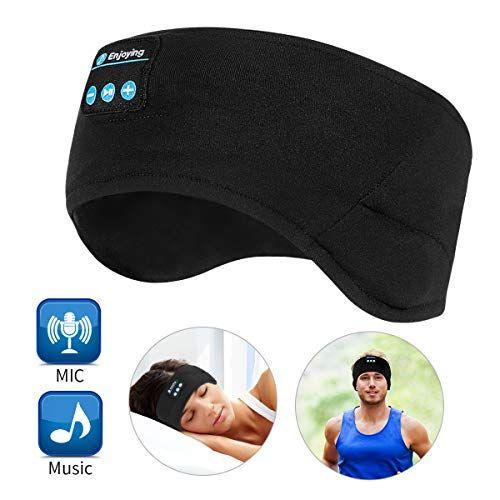 Bluetooth Headband Wireless Sleep Headphones Topoint Music Sports Sleeping Headband Headphon In 2020 Sleep Headphones Wireless Music Sports Headbands