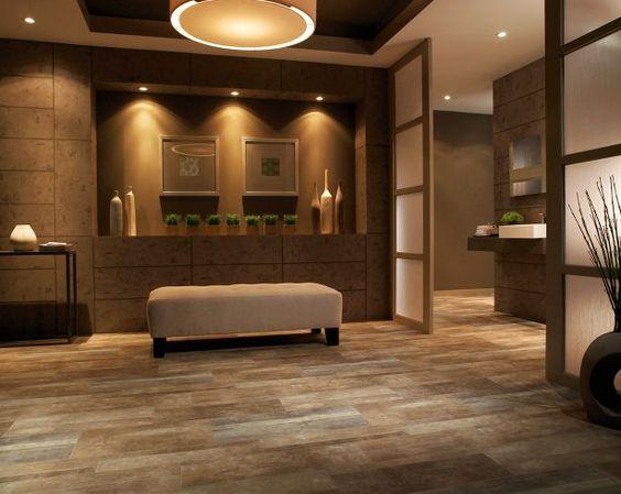 Linoleum Wood Flooring Looks Like Wood Yet Durable