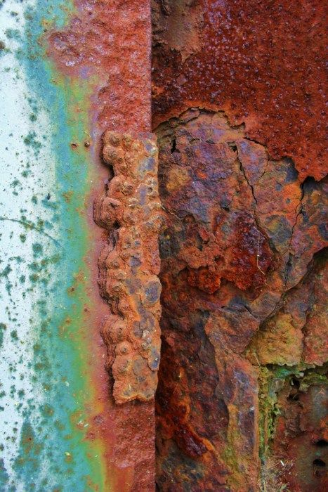 rust colored pattern in-#12