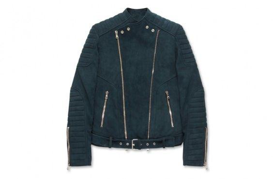 Balmain – Suede Riders Jacket