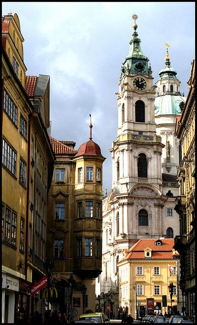 Church of St Nicholas Prague: