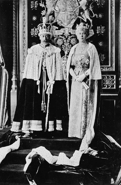 King and Queen in 1935 year of the jubilee.