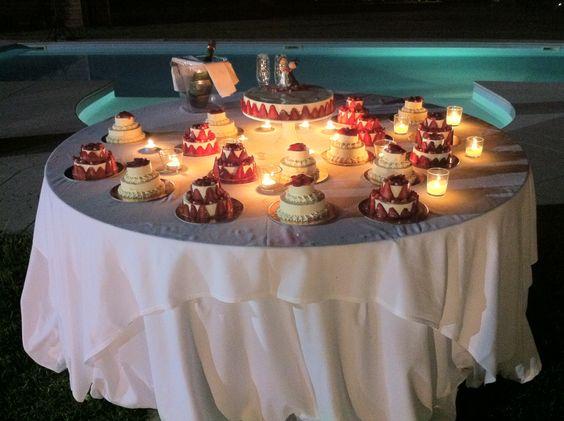 Miniwedding cakes