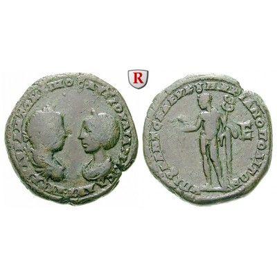 Römische Provinzialprägungen, Thrakien-Donaugebiet, Markianopolis, Julia Maesa, Großmutter des Elagabal, 5 Assaria 220-221, f.ss/ss:… #coins