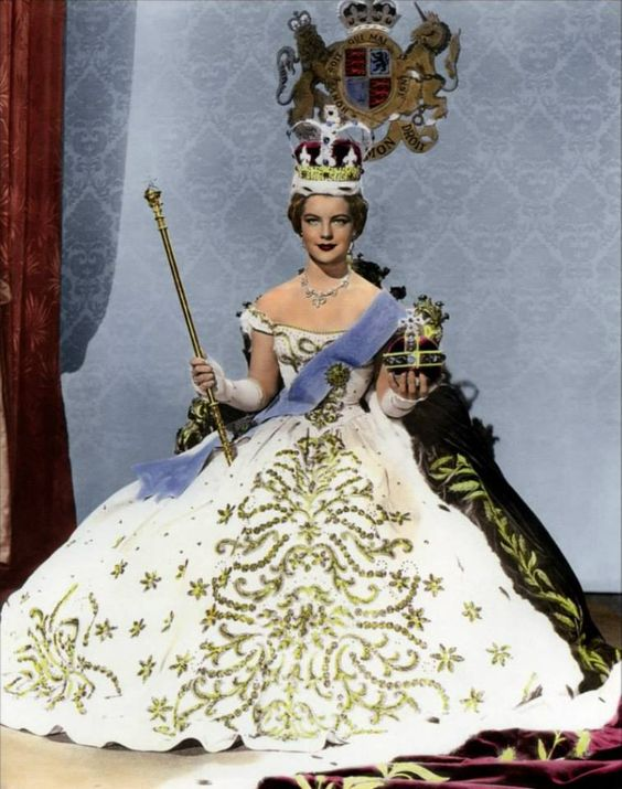 "Romy Schneider as ""Empress Sissi"""