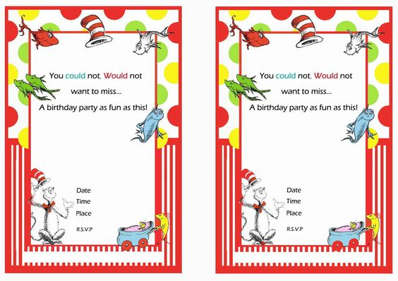 Dr Seuss Baby Shower Invitation Template was luxury invitations template