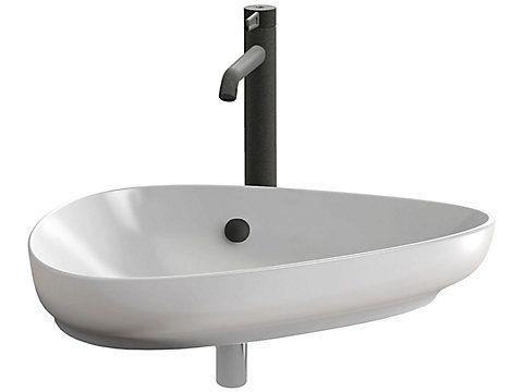 Nouvelle Vague Vasque A Poser 56 Cm Jacob Delafon France En 2020 Vasque A Poser Vasque Vasque Lavabo