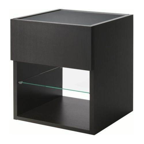 Tempered Glass Coffee Table With Drawers: Side Tables, Ikea And Side Table With Drawer On Pinterest