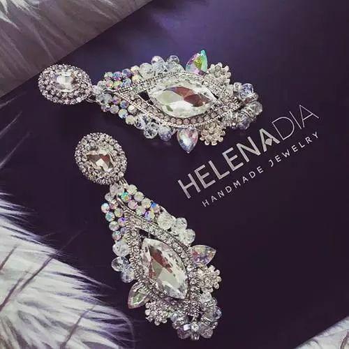 Imagen de earrings, luxury, and diamond