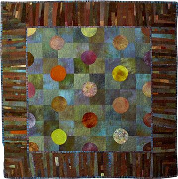 Betty Busby Textile Artist 11 Dots