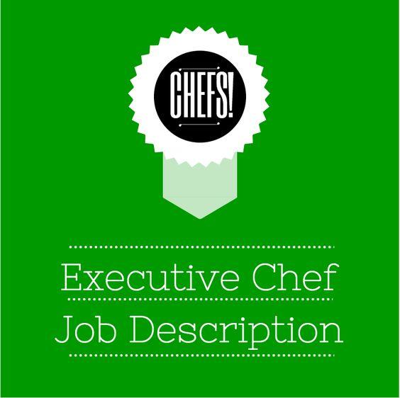 Executive Chef Job Description  For Chef Employers