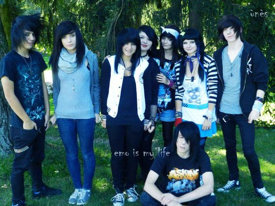 emo girls and boys