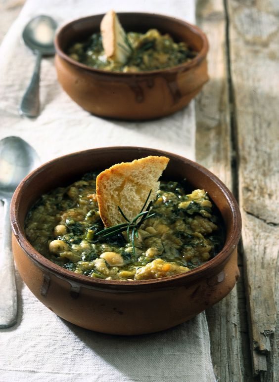 Tuscan La Ribollita We ate this while in Italy and it was wonderful.