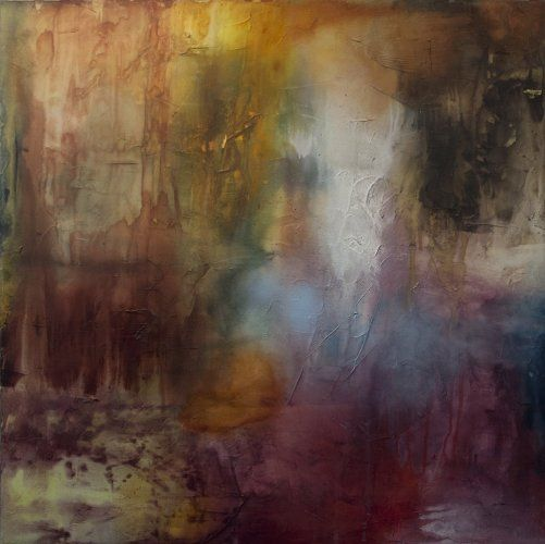 Visceral Transformation by Chris Foster Mixed Media on Canvas 36 in x 36 in