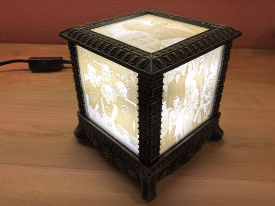 Gothic Lithophane Light By 3dprintingworld Thingiverse Lamp Diy Lamp Light