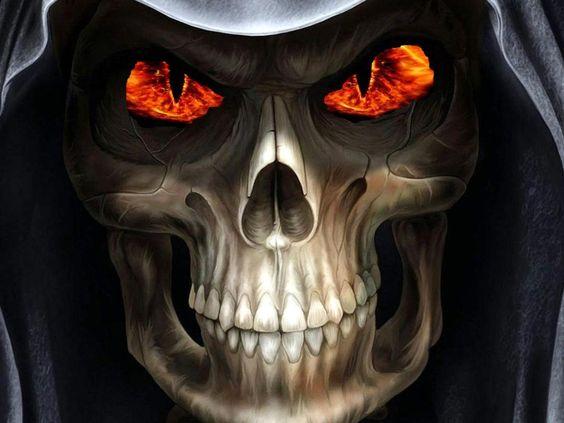 Ghost Skull PC Wallpaper - WallpaperSafari