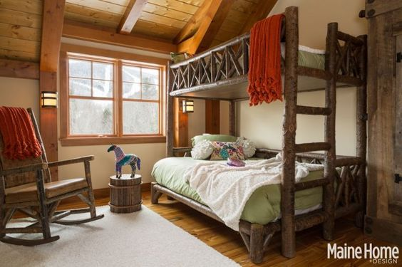 La Lune Collection is thrilled to be featured in the November issue of Maine Home+Design Magazine!  (Bunk Bed #4254 &  Rocker #1188)