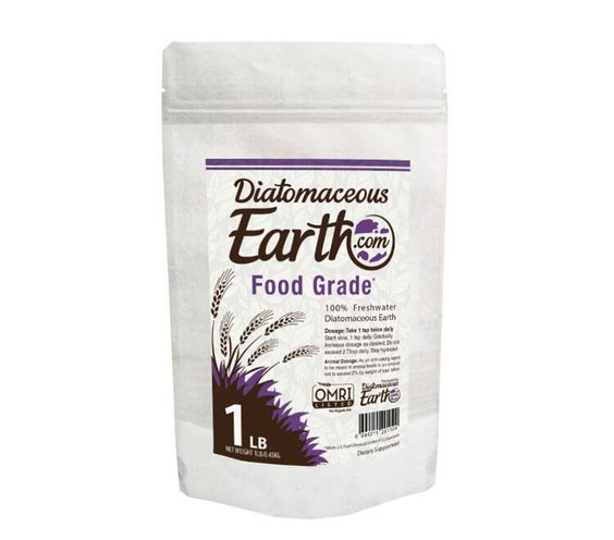 This 1 lb Natural Food Grade Diatomaceous Earth is 100% food grade. It's a great size for new DE users and packaged in a heat-sealed bag to keep it secure during transit. Since food grade diatomaceous earth is an organic product, it's safe to use in the home around your family and pets.