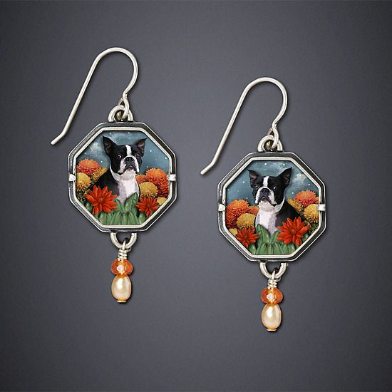 One of my favorite Jewelry Artists - Dawn Estrin and here in one of my favorite breeds!