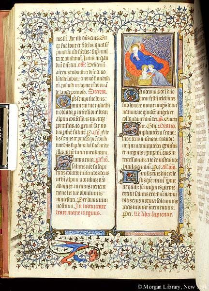 Missal, MS M.331 fol. 269v - Images from Medieval and Renaissance Manuscripts - The Morgan Library & Museum