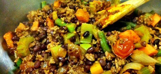 Clean Eating Comfort Food. Healthy Chilli Con Carne.