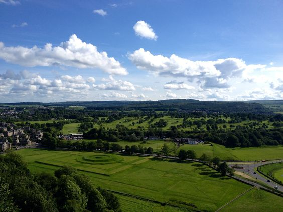 View from Stirling Castle, Glasgow, Scotland