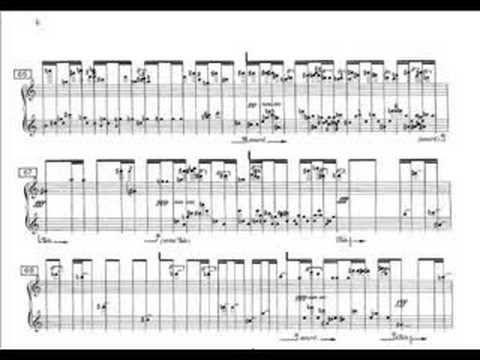 Iannis Xenakis Mists   Scores  Leadsheets