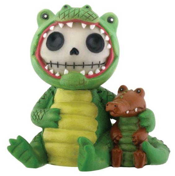 Alligator bones..