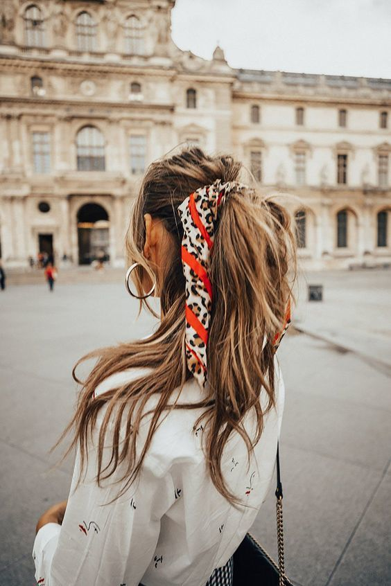 Pin by Metalsmith Society + Corkie Bo on H a i r | Barefoot blonde hair,  Scarf hairstyles, Blonde hair extensions