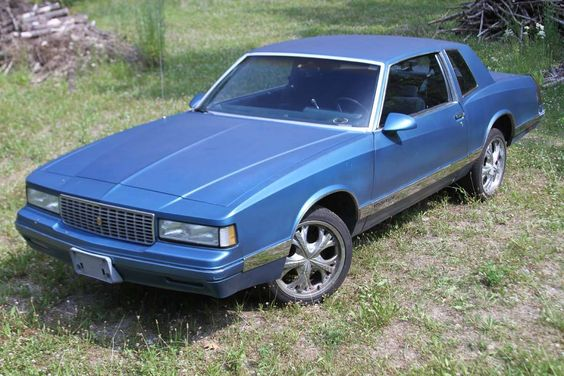 1987 Chevrolet Monte Carlo Luxury Sport For Sale 1759522 In 2020 Chevrolet Monte Carlo Chevrolet Monte Carlo