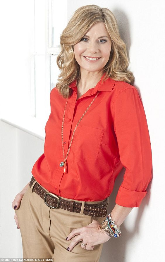 Glynis Barber is approaching    but is often told that she could pass for    years younger  She maintains and organic diet  hasn     t eaten breakfast for three