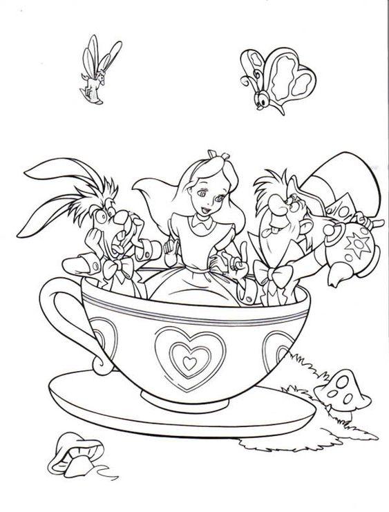 free Alice in Wonderland Party Printables   alice-gato alice-in ...
