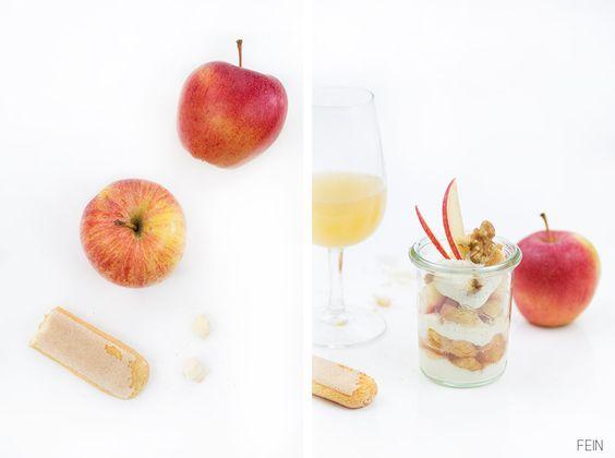 Apfeltiramisu mit Bergapfelsaft von Kohl
