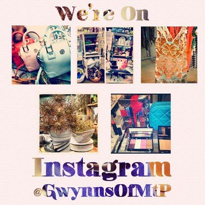 We're on @Instagram! Follow us at @GwynnsOfMtP to stay on top of all the newest at #Gwynns! #instagram #chs #chsfashion #photos #gwynnsofmtp #fashion #style #inspiration #motivation