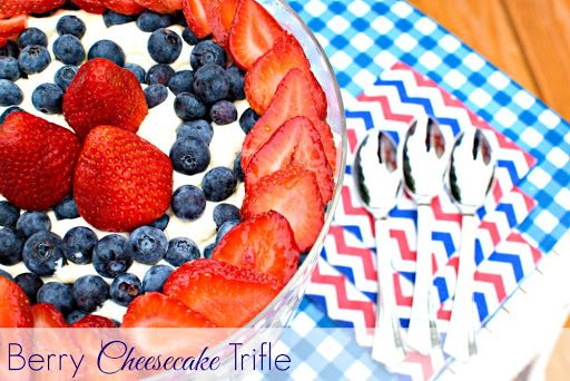 Berry Cheesecake Trifle Recipe on Yummly