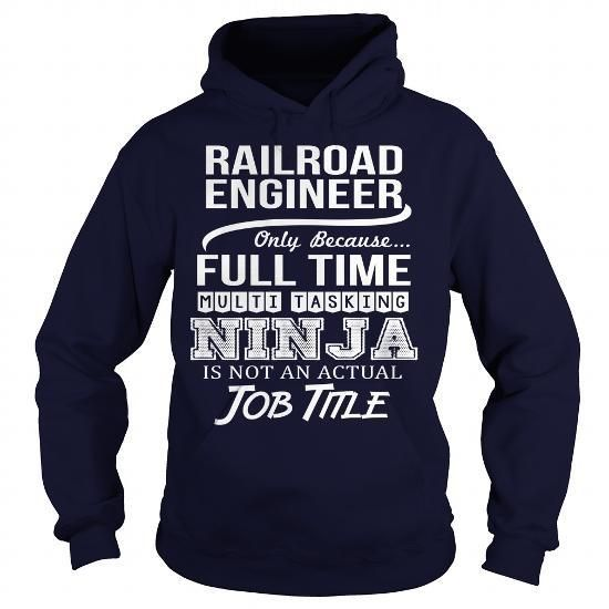 Awesome Tee For Railroad Engineer T Shirts, Hoodies Sweatshirts. Check price ==► https://www.sunfrog.com/LifeStyle/Awesome-Tee-For-Railroad-Engineer-96673496-Navy-Blue-Hoodie.html?57074