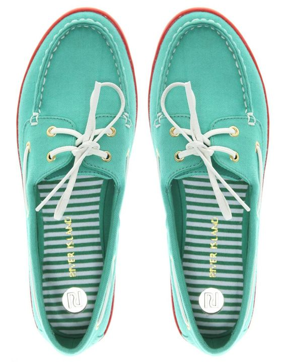 River Island | River Island Canvas Boat Shoes at ASOS | My Style ...