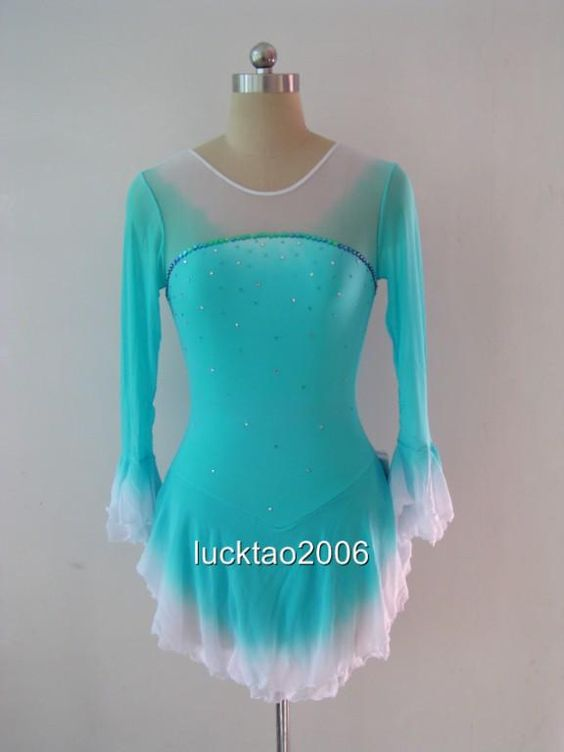 Figure Skating Dresses   Details about Gorgeous Figure Skating Dress Ice Skating Dress