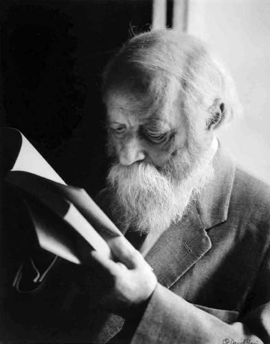 Martin Buber (1878-1965) - Photo by ??