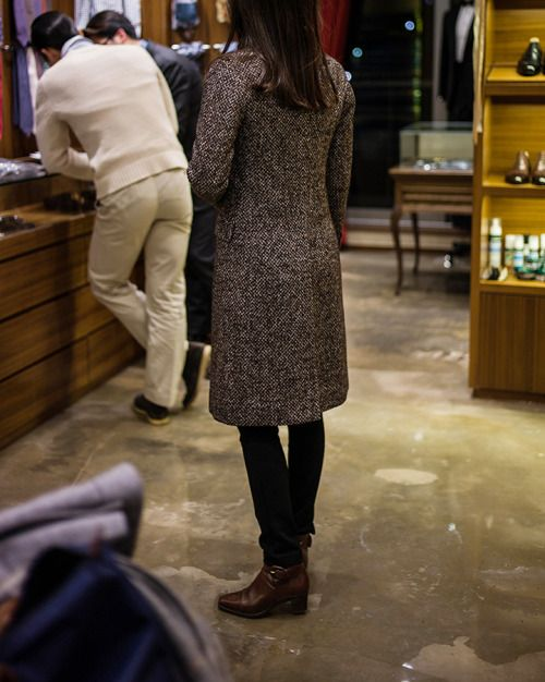 B&TAILOR Singble Breasted Woman Coat