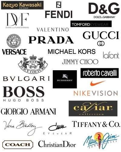 fashion designer logos and names fashion logo design