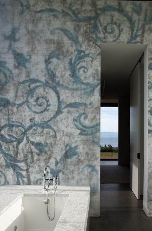 Carta da parati wet system per ambienti umidi wall dec casa in campagna pinterest - Carte da parati decorative ...