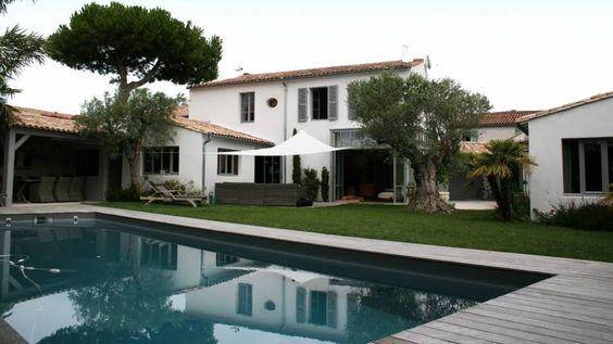 A vendre maison de village bord de mer bois plage ile de r 17580 c te - Maison bois bord de mer ...