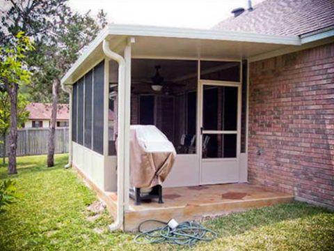 Install Screened In Porch Memphis Tn Maclin Security Doors Screened In Porch Outdoor Screen Room Screened In Patio