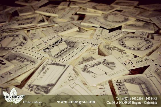 Pregúnta el #Exlibris en el Taller Ars Nigra www.arsnigra.com
