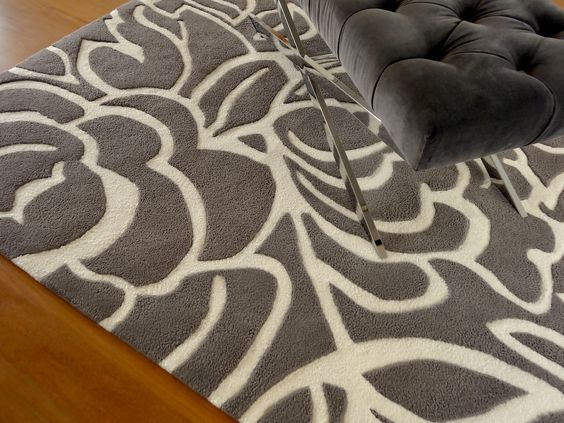 Alfombra Magnolia, de la Colección Floral. Exclusiva de Living Design. #alfombras #rugs #livingdesign